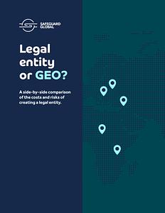 Legal entity vs. GEO